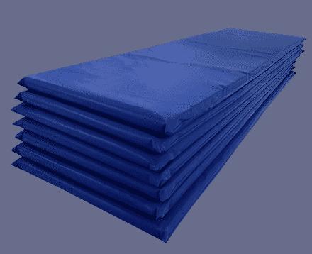 Colchoneta de gimnasia alta densidad tatami co55 tela pl stica 190x60x6 arcoiris - Colchon tatami ...