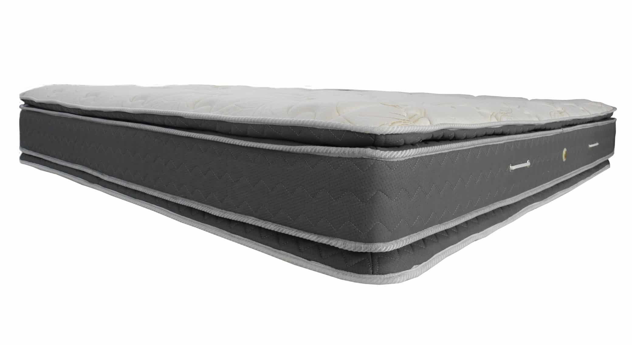 Colch n espuma alta densidad max 30 con doble pillow 190x140 arcoiris - Colchon al vacio ...